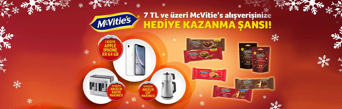 CarrefourSA McVitie's iPhone XR Çekiliş