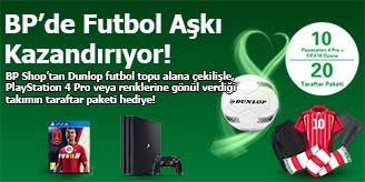 BP Shop PS4 PRO Çekilişi
