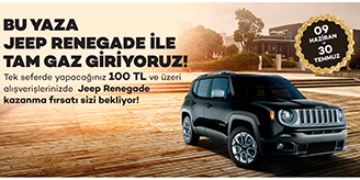 Forum Ankara Outlet Jeep Renegade Çekilişi