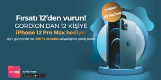 Gordion AVM iPhone 12 Çekilişi