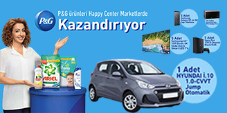 Happy Center Hyundai Çekilişi