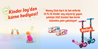 Migros - Kindor Joy Power Scooter Çekilişi