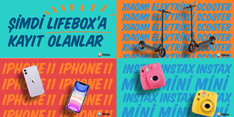 Lifebox iPhone Çekilişi