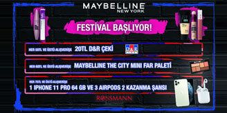 Qumpara Maybelline iPhone11 Çekilişi