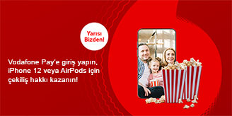 Vodafone Pay iPhone 12 Çekilişi