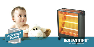 Kumtel Isıtıcı  EXP-18 Ecoray 1800 W Mobile Infrared